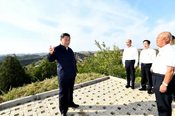 """""""我们是从这里走过来的"""" ——记习近平总书记在陕西榆林考察"""
